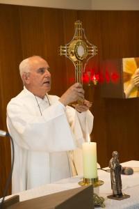 Capela Padre Eustáquio - Missa de Inauguração da CAPE