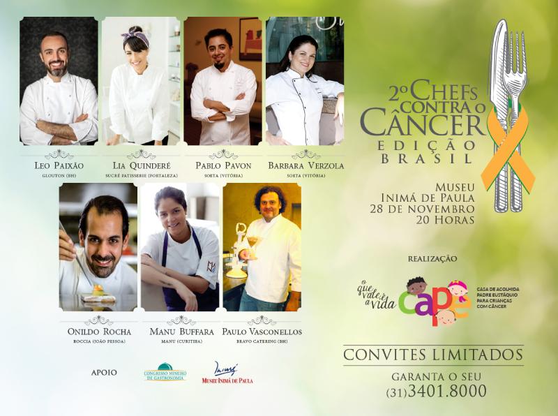 2 Chefs contra o câncer - CAPE