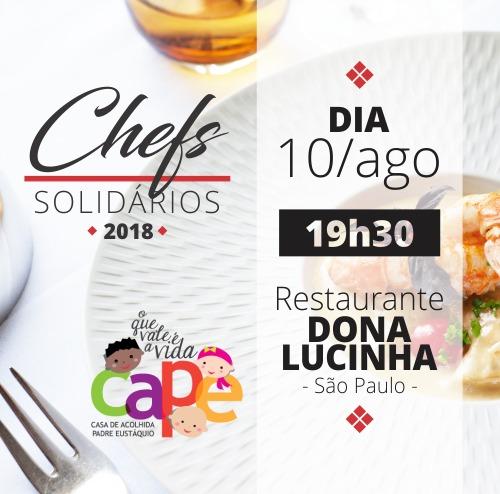 Chefs Solidários SP 2018 - CAPE