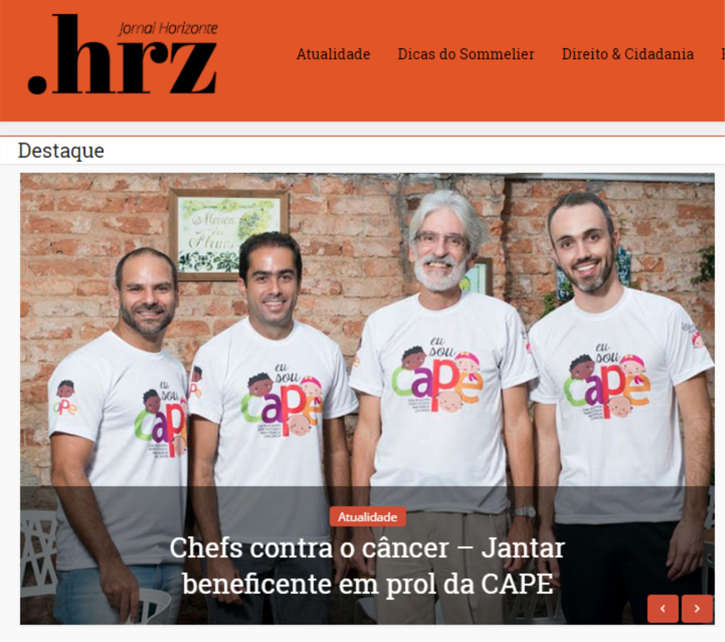 Chefs contra o câncer - CAPE