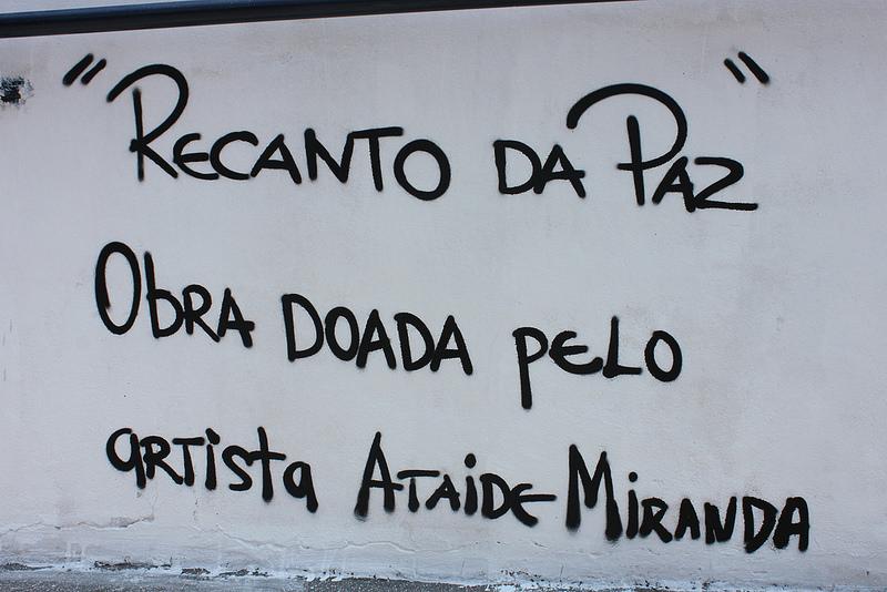 """""""Recanto da PAZ"""" por Ataíde Miranda - CAPE"""