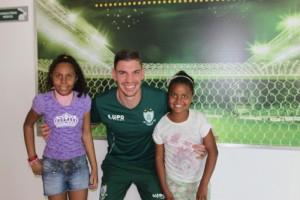 Visita ao CT América Futebol Clube